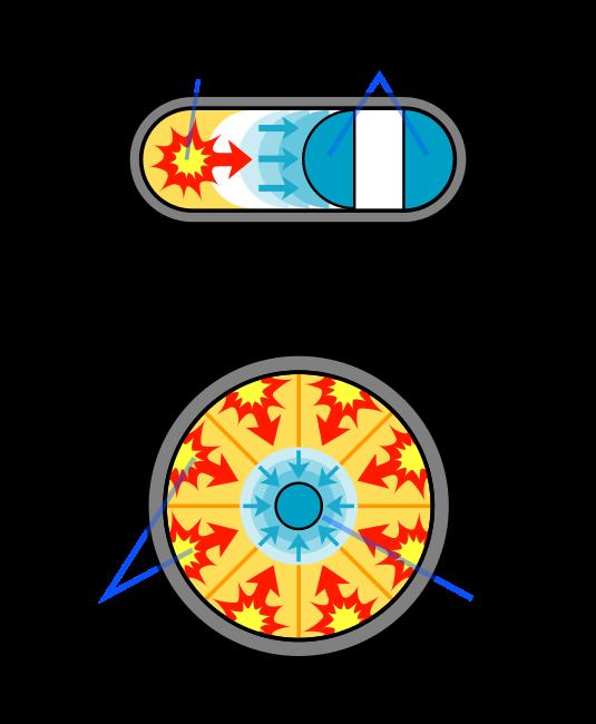 Resultado de imagen de bomba de fision