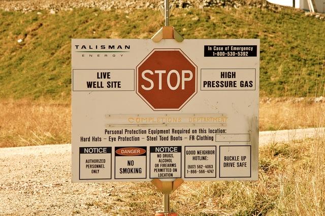 Fracking Site in Warren Center, PA 07