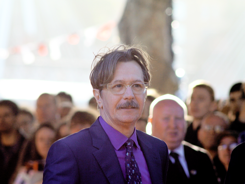 Gary Oldman at the London premiere of Tinker Tailor Soldier Spy (2)