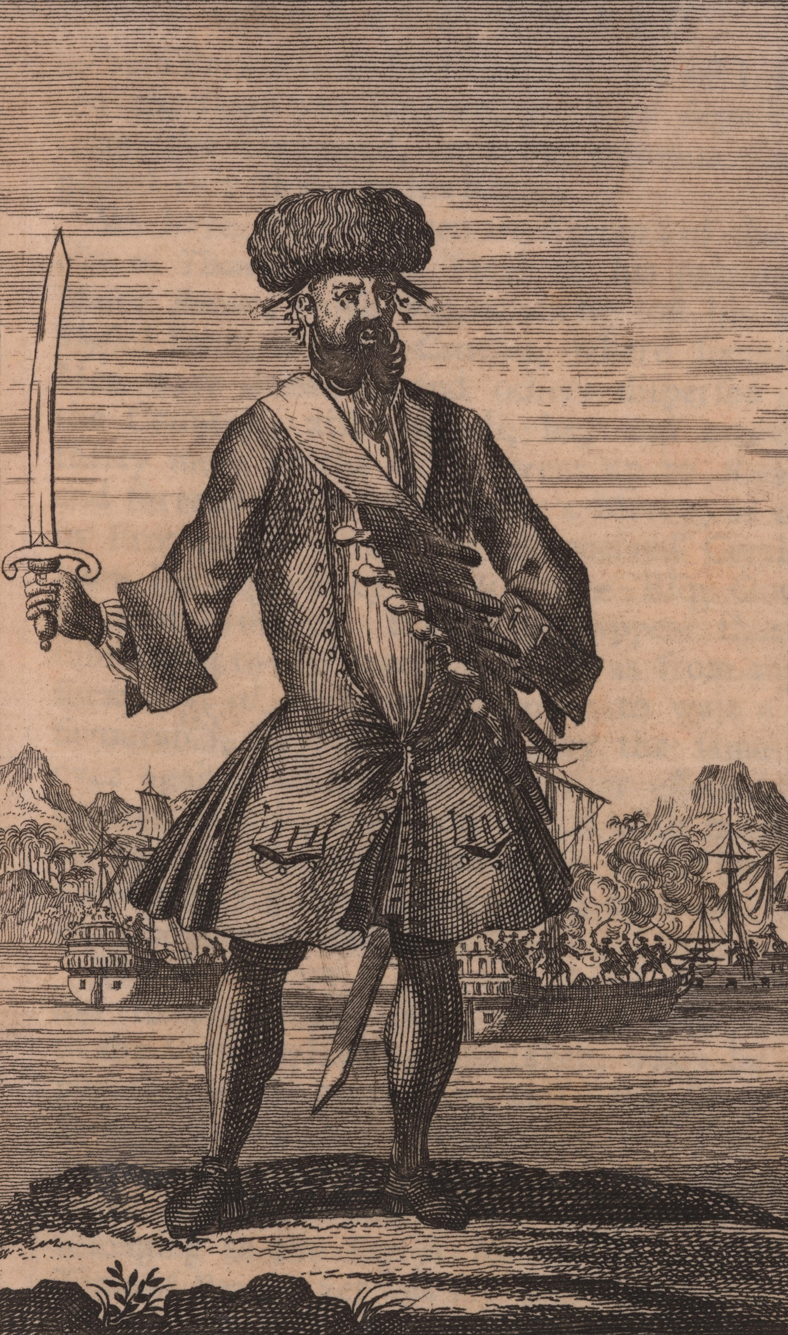 File:General History of the Pyrates - Blackbeard the Pirate (1724).jpg