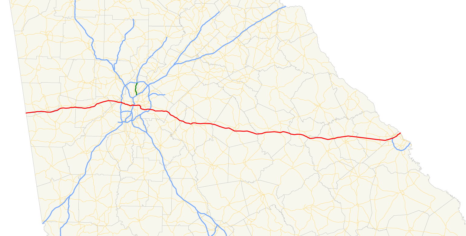 File:Georgia state route 402 map.png - Wikimedia Commons