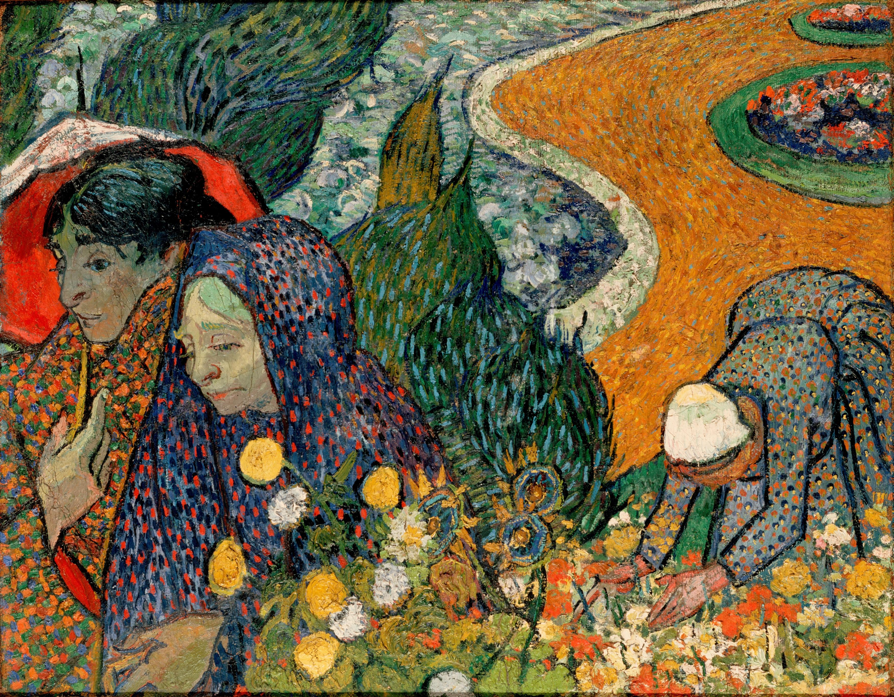 File:Gogh, Vincent van - Memory of the Garden at Etten (Ladies of ...