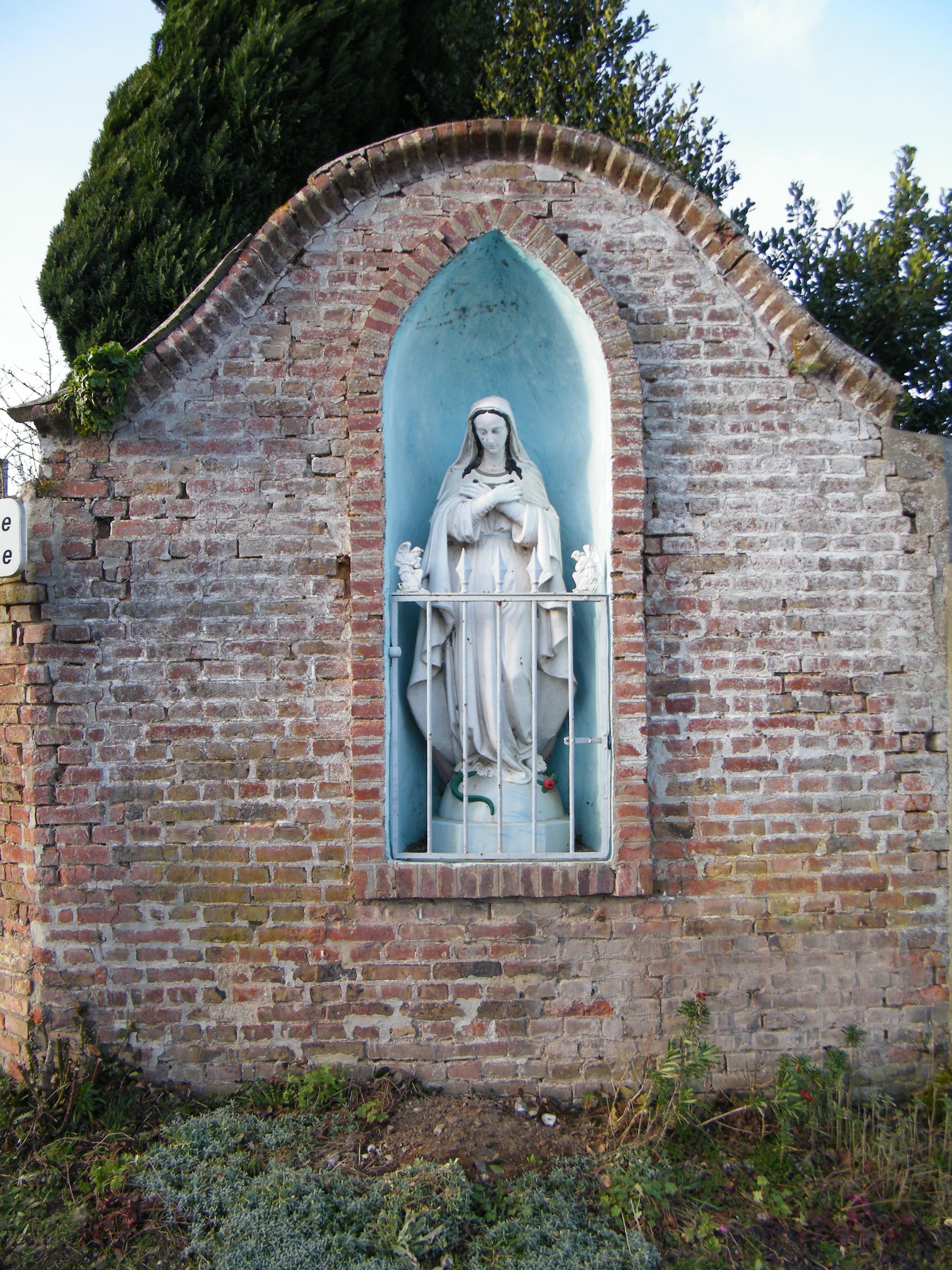 Fichiergrébaultmesnil Somme Fr Chapelle De La Vierge Au