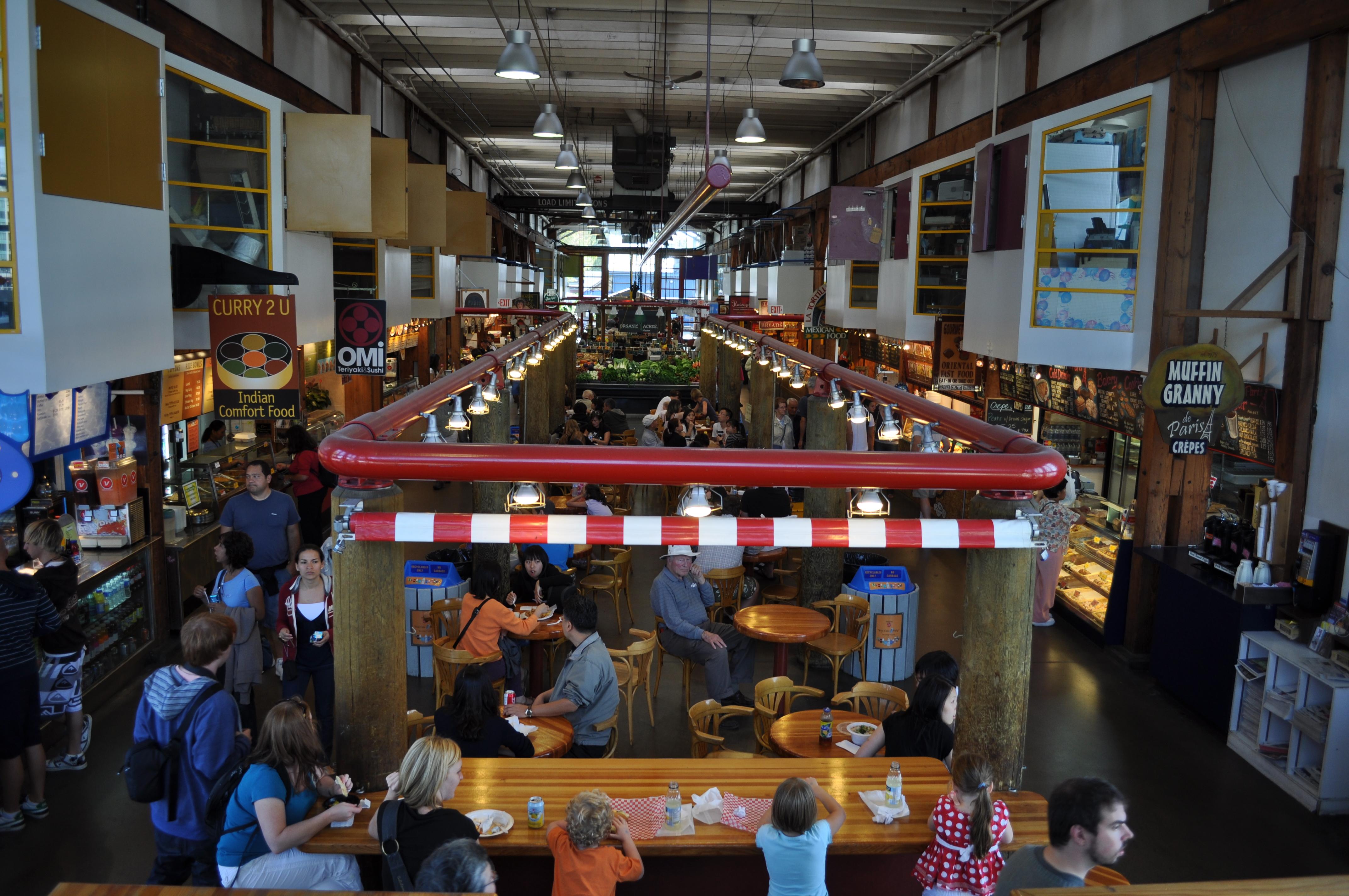 Granville Island Market Rememberance Day