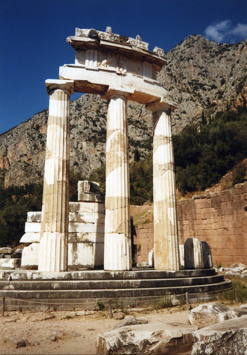 filegreece delphi tholosjpg wikimedia commons