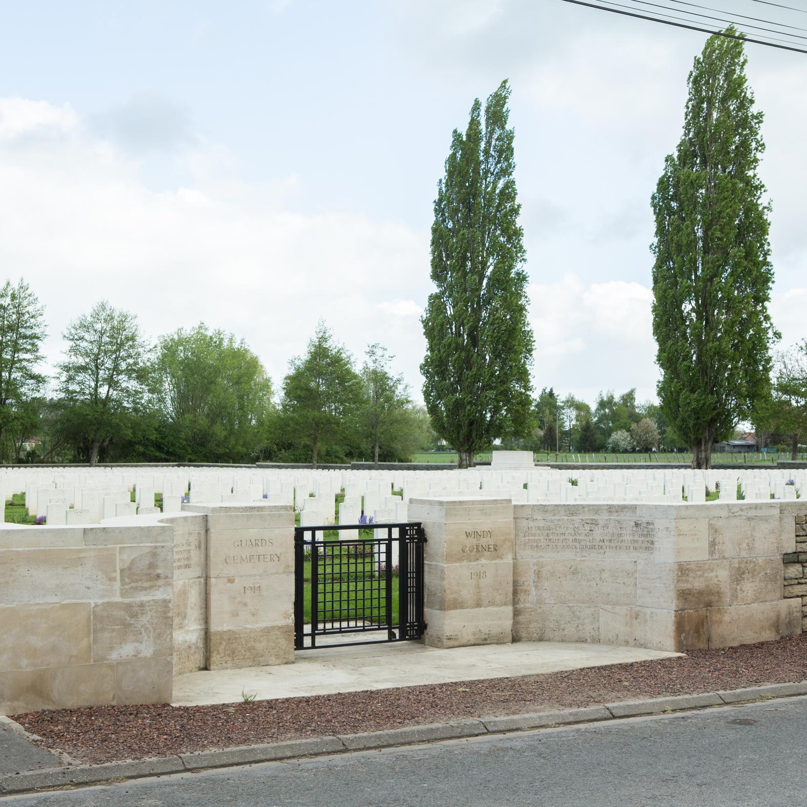 Guards Cemetery, Windy Corner