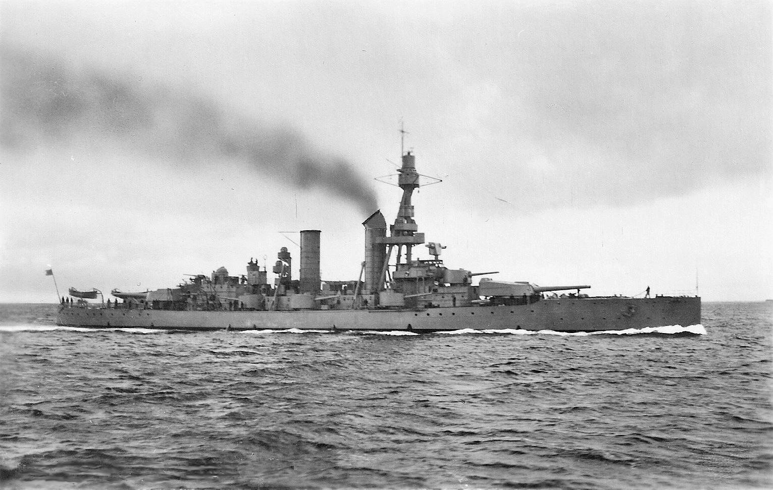HMS Drottning Victoria after 1931