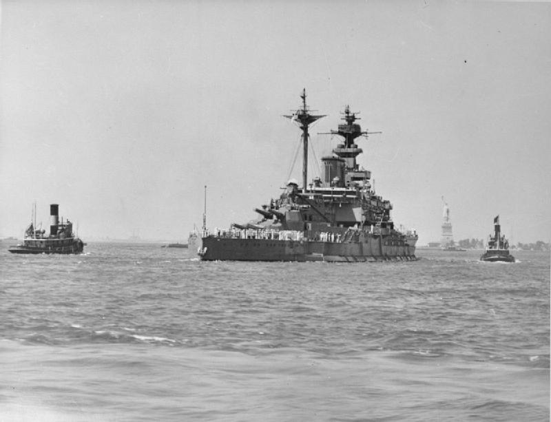 Swordfish Mk.I - 701 Sqn FAA, HMS Malaya, 1/50 SMER HMS_Malaya_Leaving_New_York_Harbour_After_Repairs,_9_July_1941_A5443
