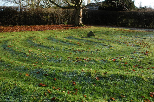 Hailes Labyrinth - geograph.org.uk - 638644