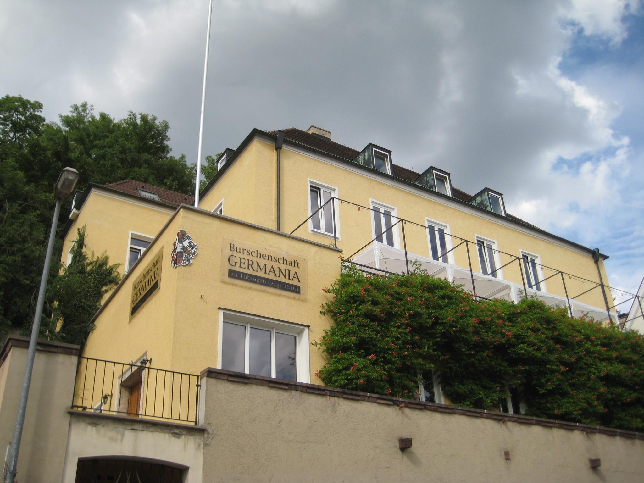 Burschenschaft Germania Tübingen Wikipedia