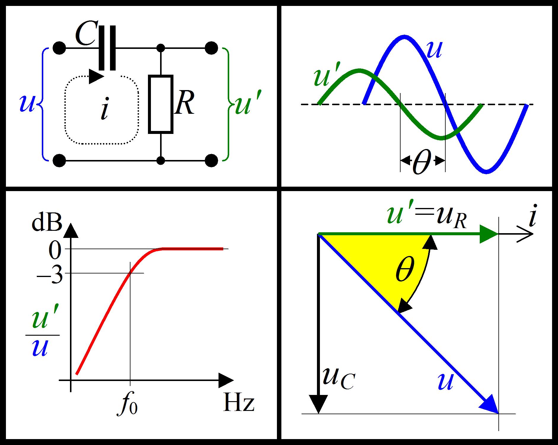 Схема сдвига импульса по фазе