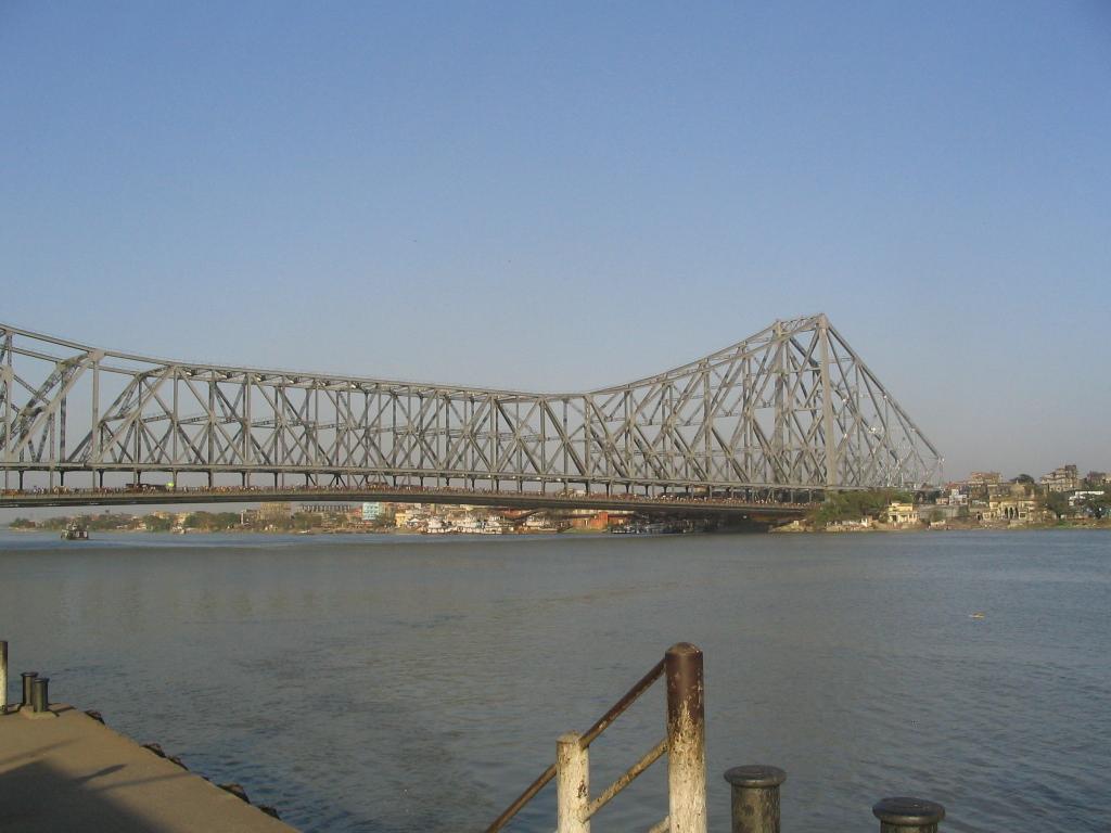 Howrah Bridge from Howrah City side