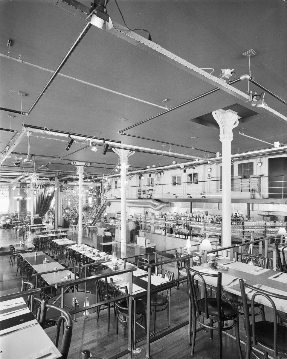 File interieur overzicht restaurant rotterdam for Interieur rotterdam