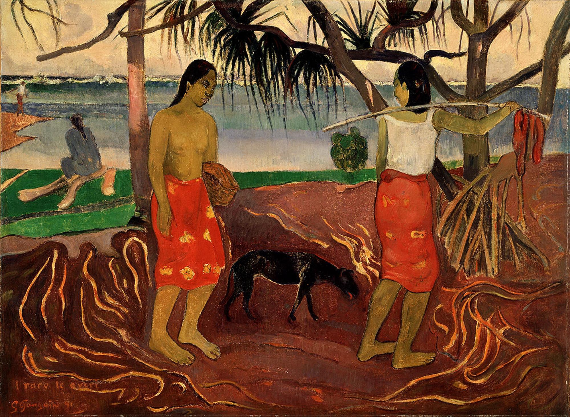 Gauguin Oviri File:I raro te Oviri -...