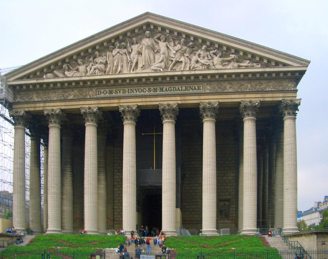 Igreja de la madeleine wikip dia a enciclop dia livre - La maison de la truffe madeleine ...