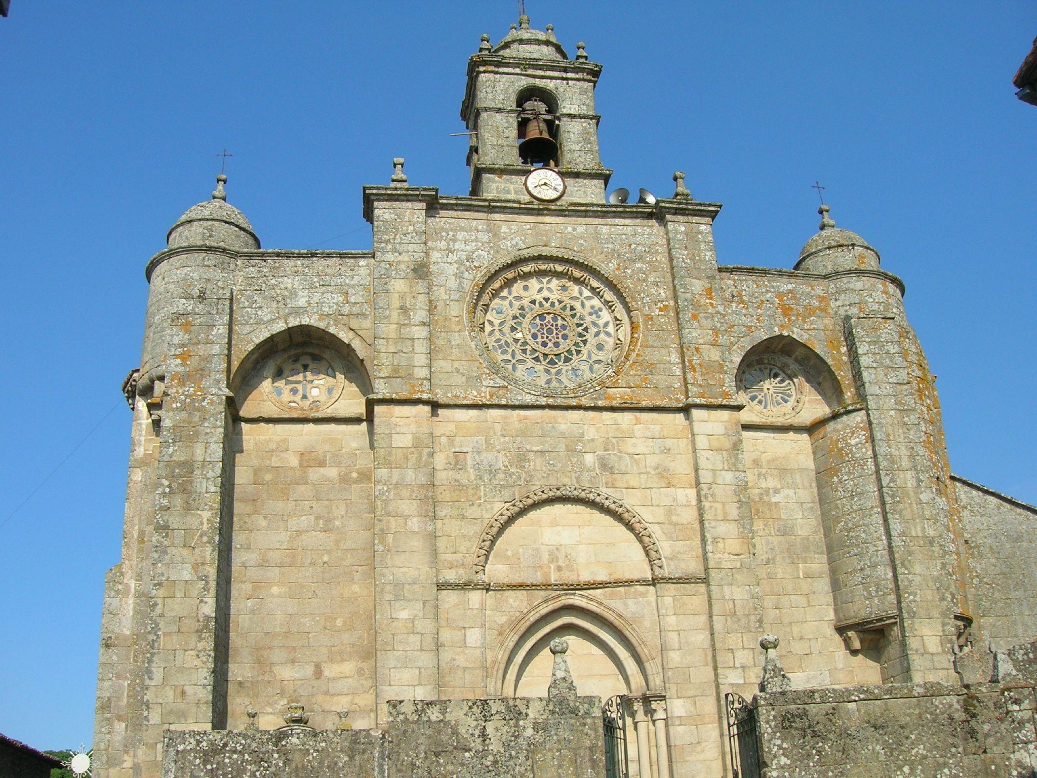 File Igrexa De Santa Mariña De Augas Santas Allariz Jpg Wikimedia Commons