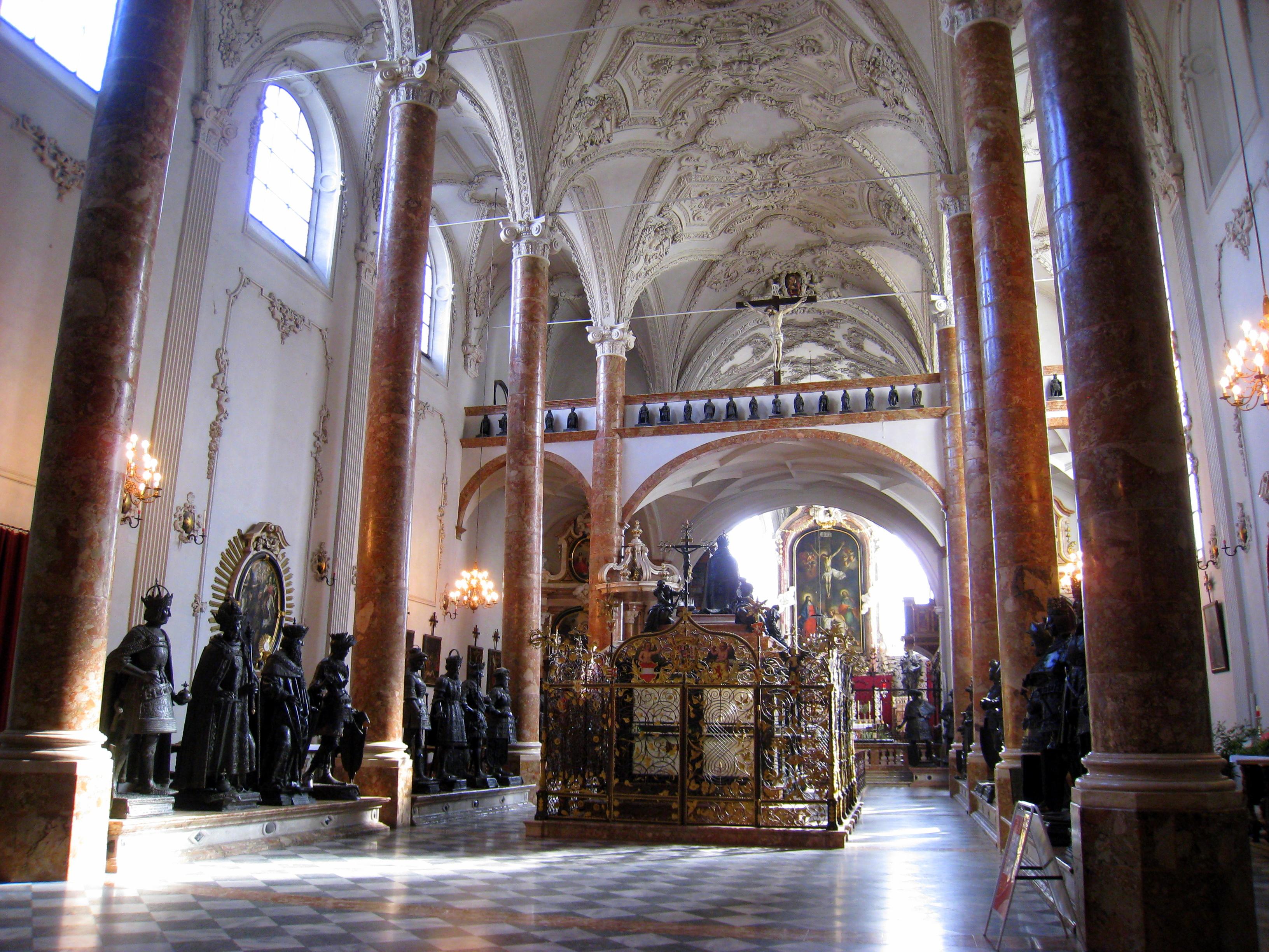 innsbruck <i>hofkirche</i>