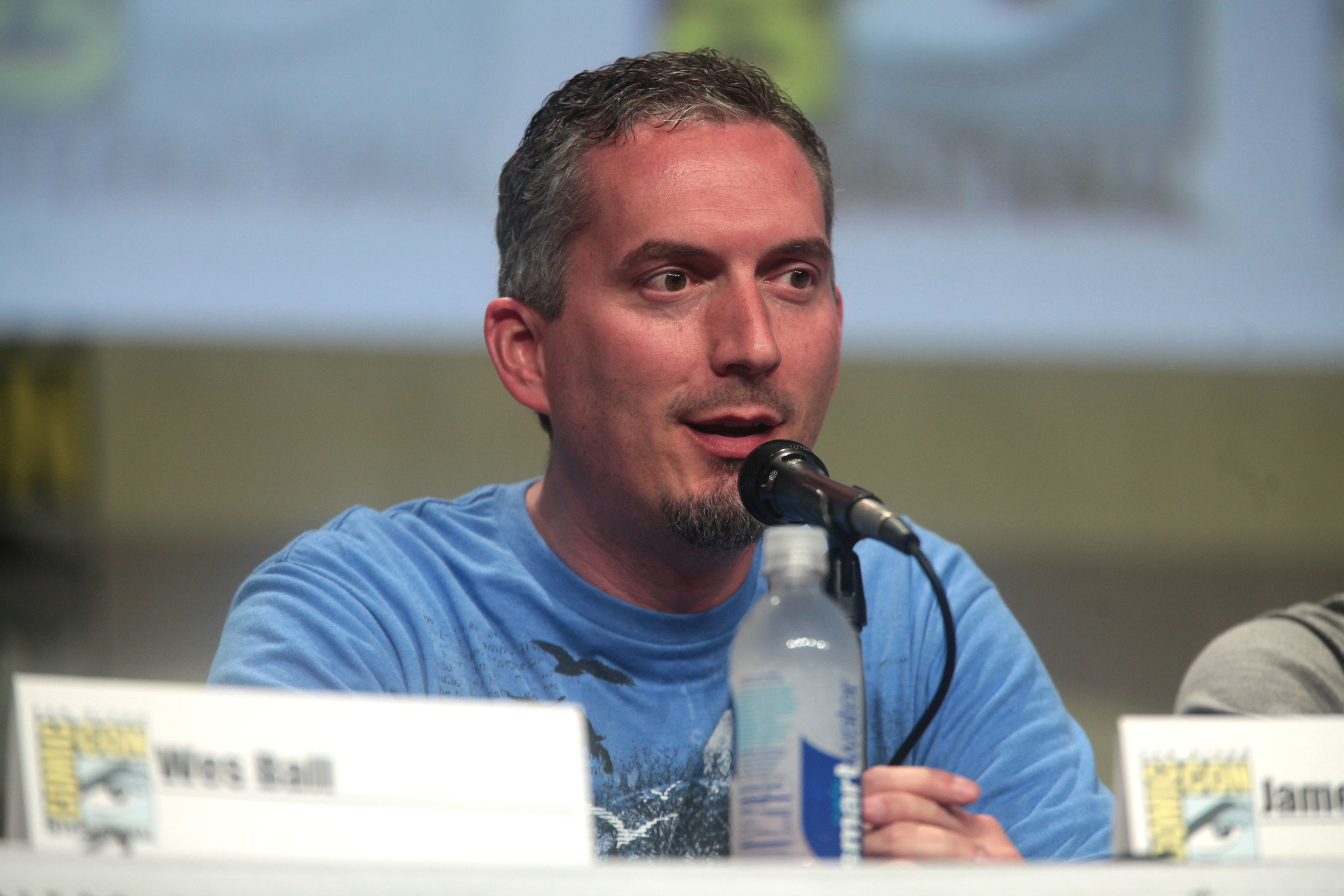 Dashner at the 2014 [[San Diego Comic-Con International]]