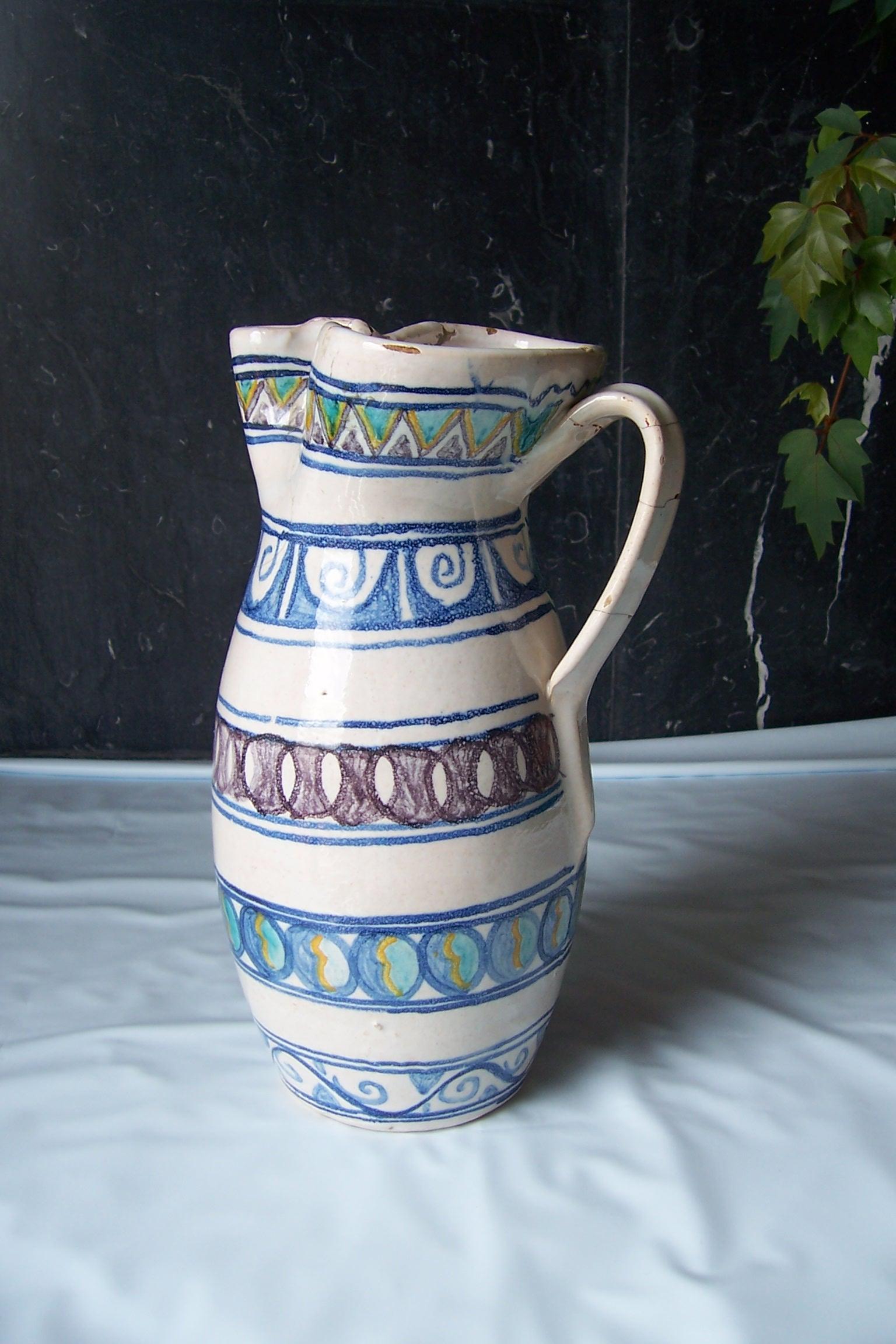 file jarra ceramica toledo 1960 wikimedia commons