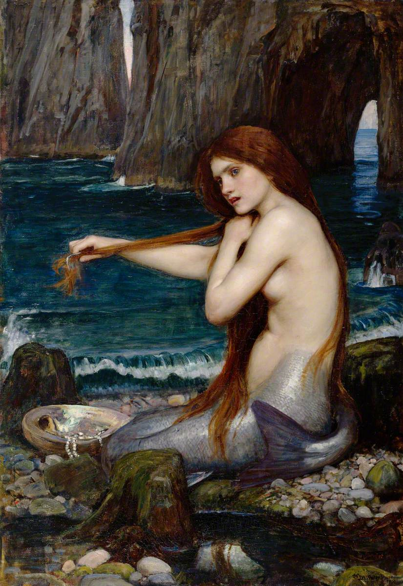 John William Waterhouse A Mermaid.jpg
