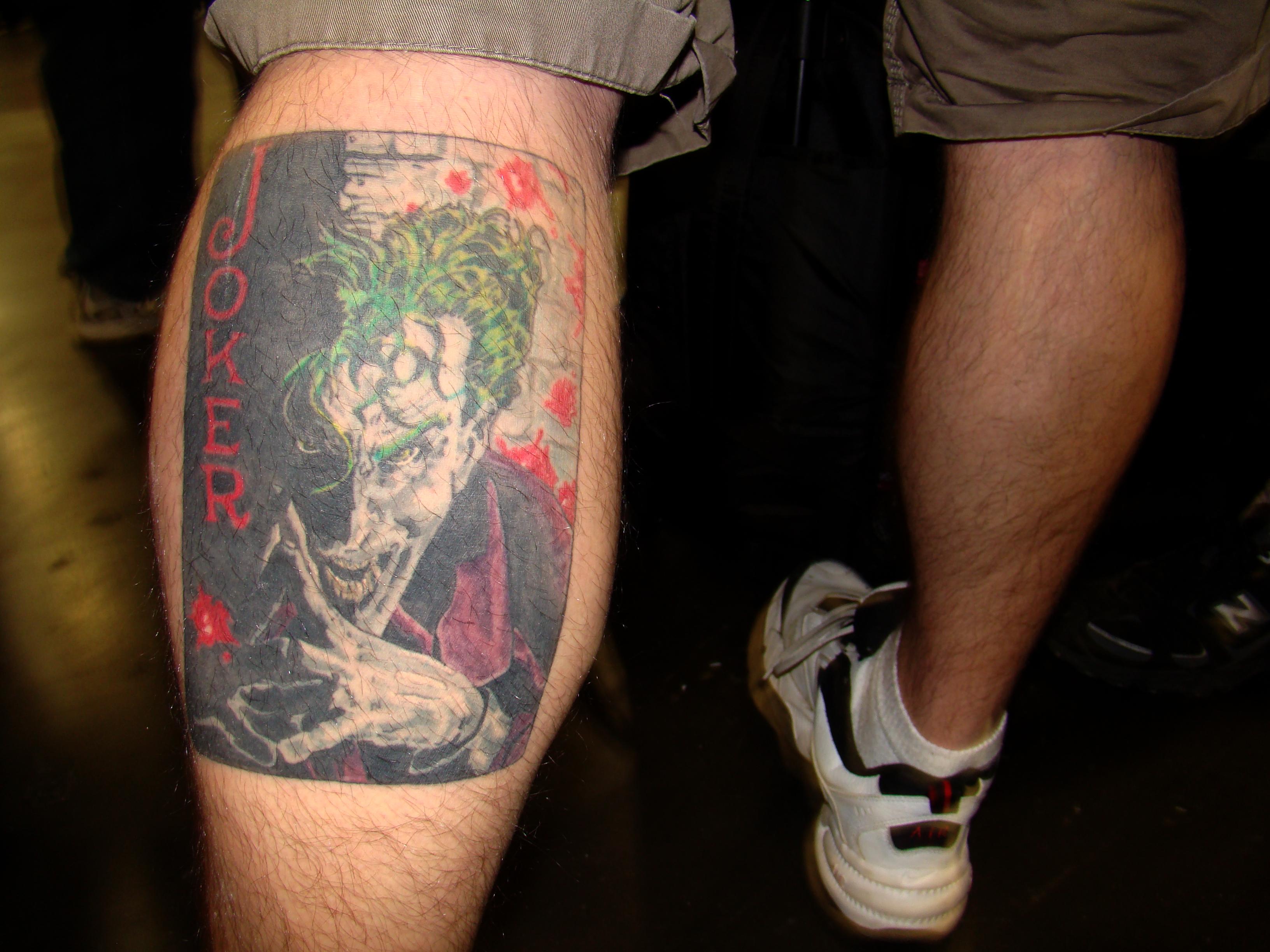 File joker tattoo 3261809991 jpg for The joker tattoo