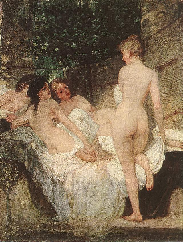 FileKaroly Lotz 1833 1904 After The Bath 1880