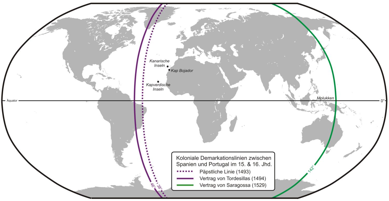Vertrag Von Tordesillas Wikipedia