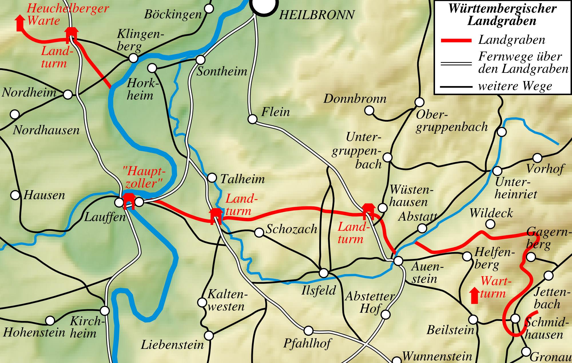 Bach Nordhausen file karte württembergischer landgraben png wikimedia commons