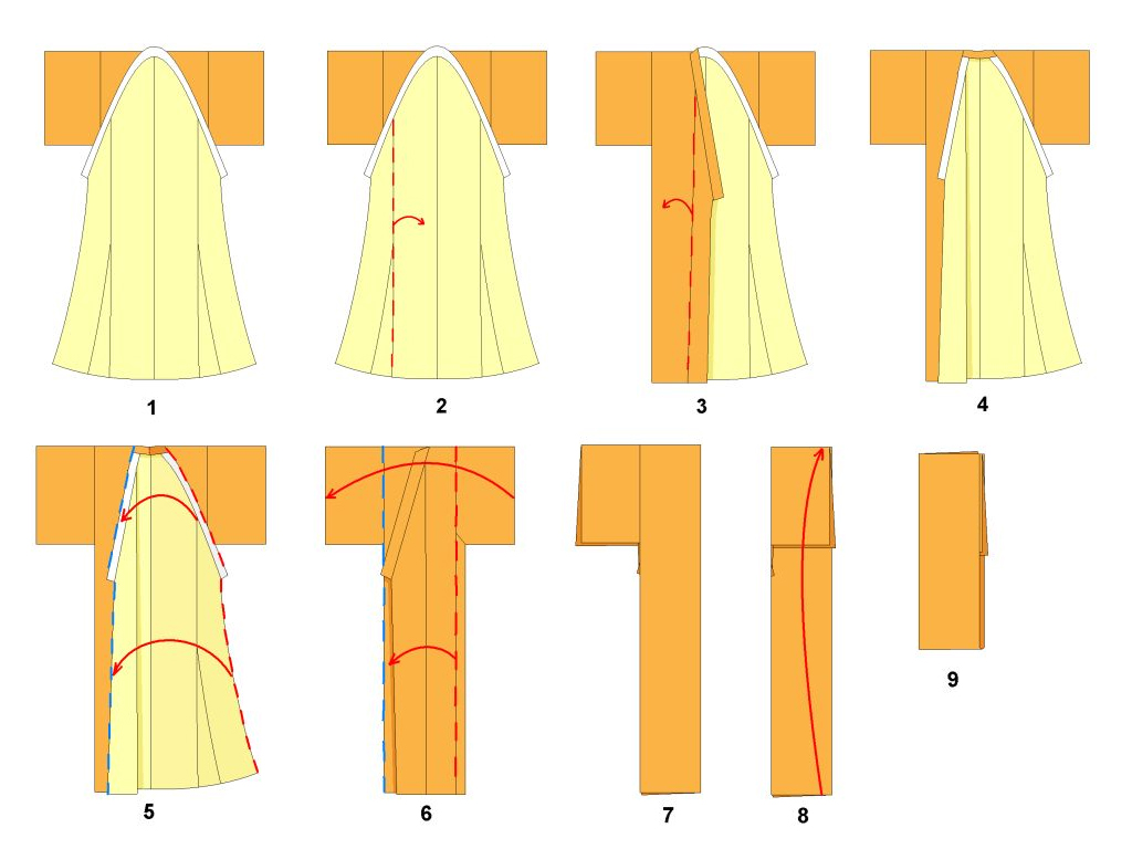 15 unique aspects of japanese culture for Japanese way to fold shirts