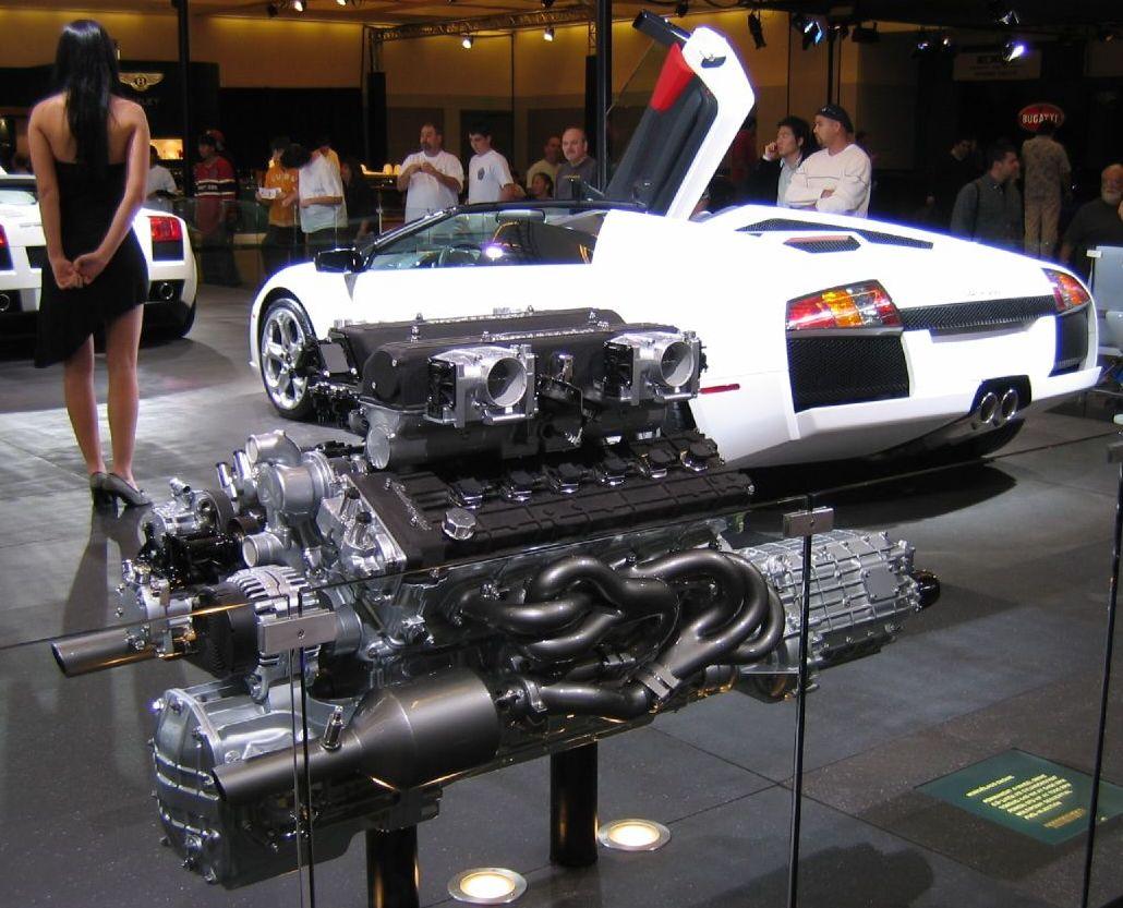 двигатель lamborghini