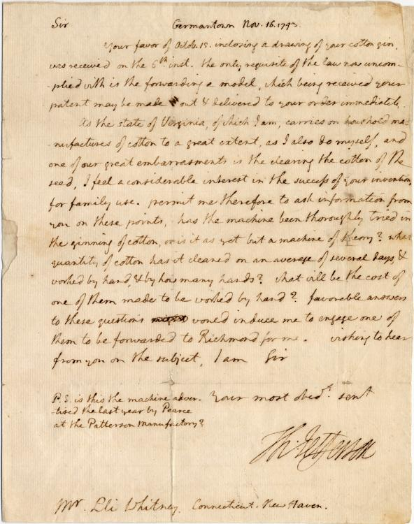 benjamin bannekers letter to thomas jefferson