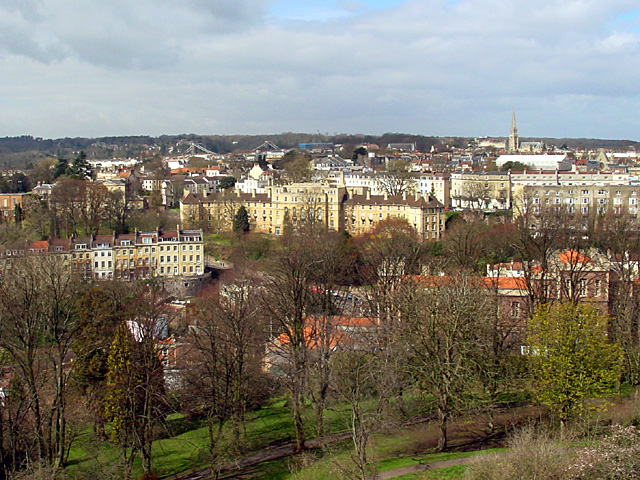 Looking WNW from the Cabot Tower - geograph.org.uk - 151151