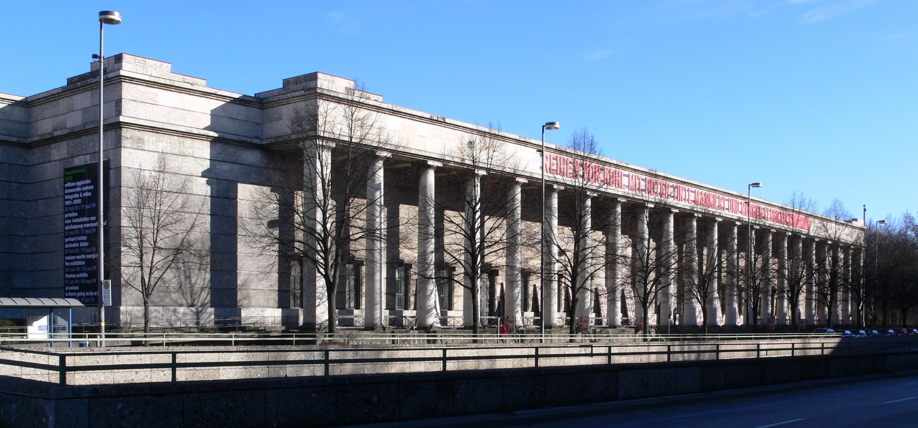 Description münchen haus der kunst 2009