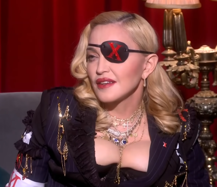 File:Madonna on Medellin MTV premiere (cropped).png - Wikimedia Commons