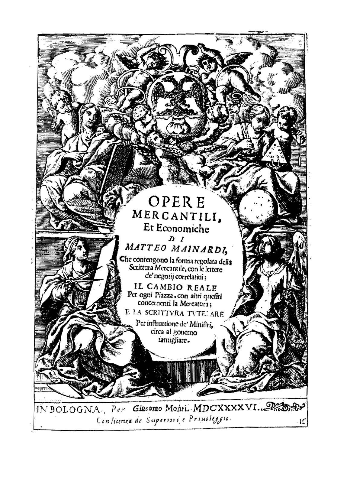 ''Opere mercantili et economiche'', 1646