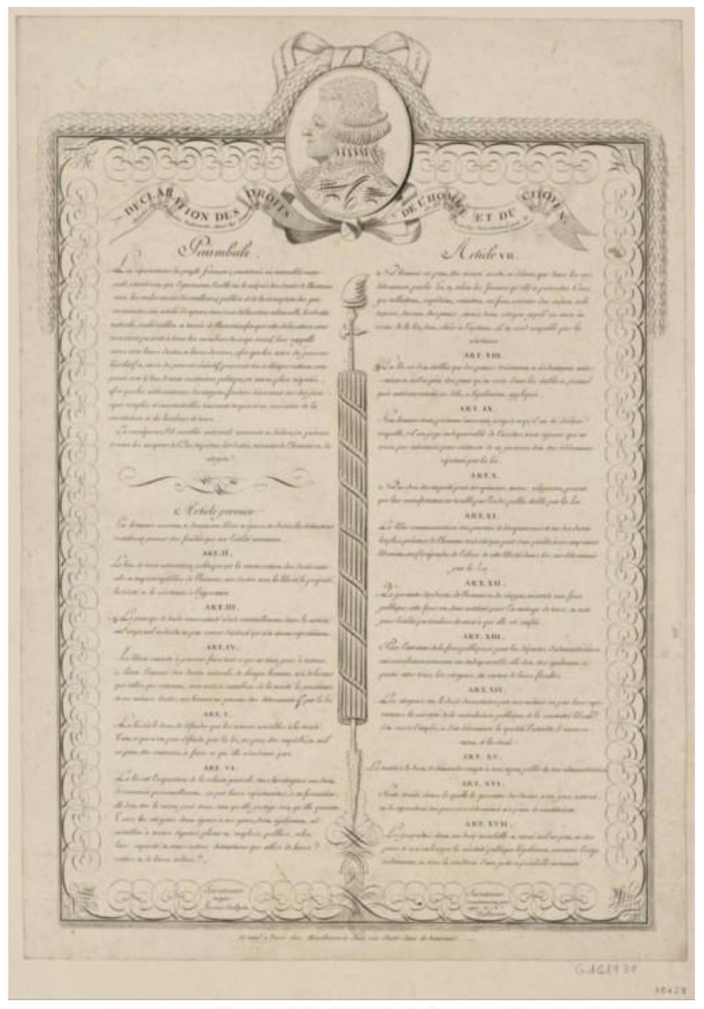 Fichier manuscrit d claration des droits de l 39 homme et du w - Droits des proprietaires et des locataires ...