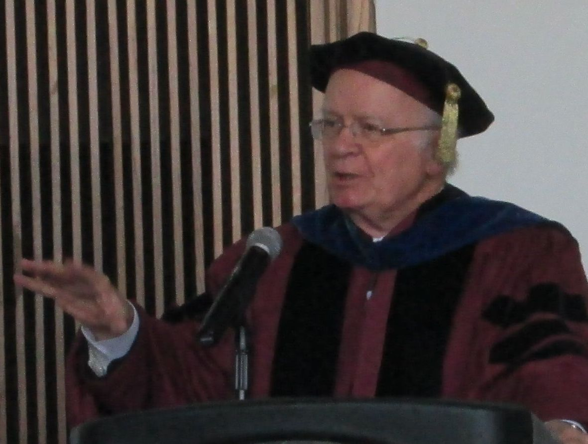 Marty speaking at Shimer College, May 2013