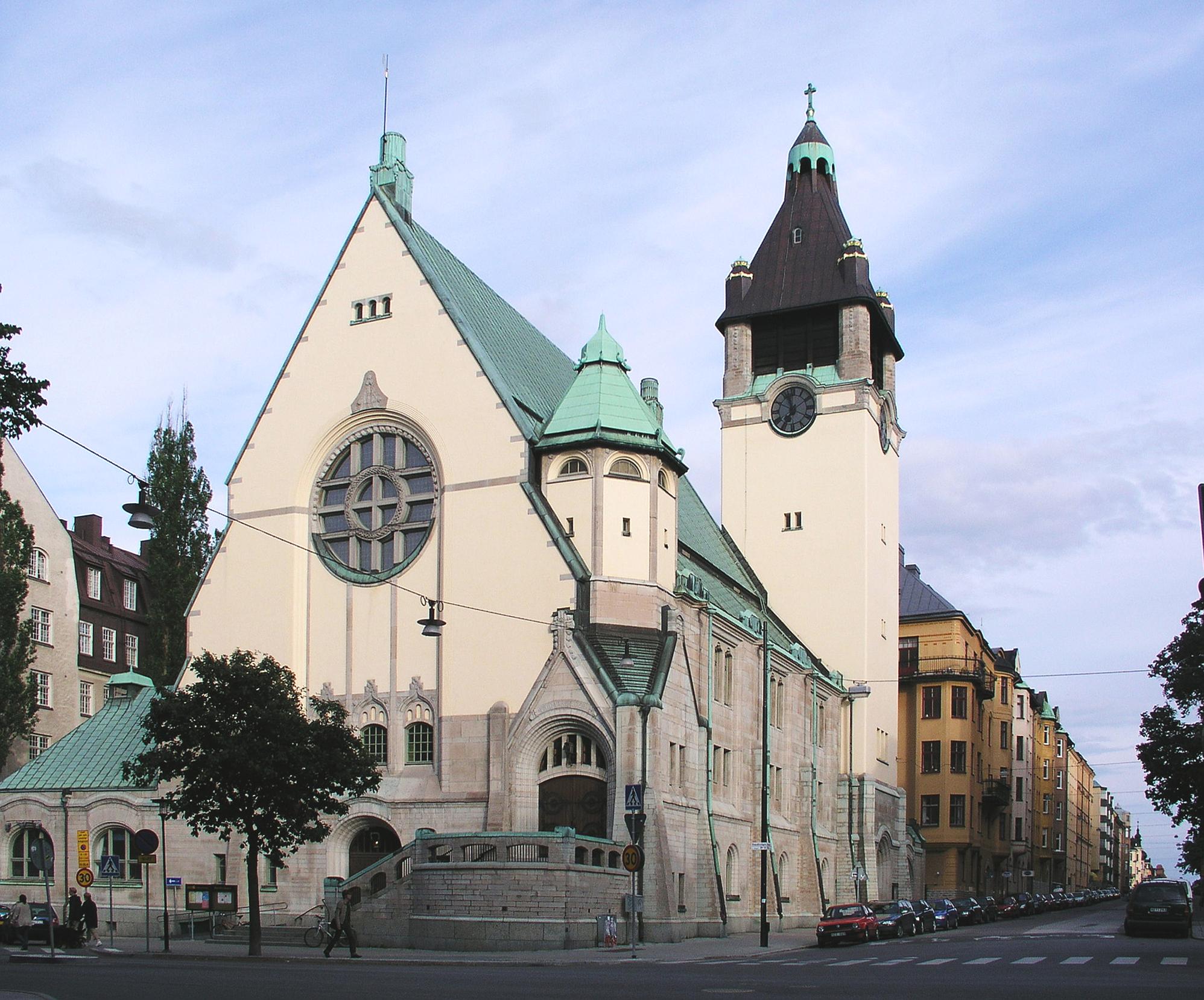 Bild av Sankt Matteus kyrka