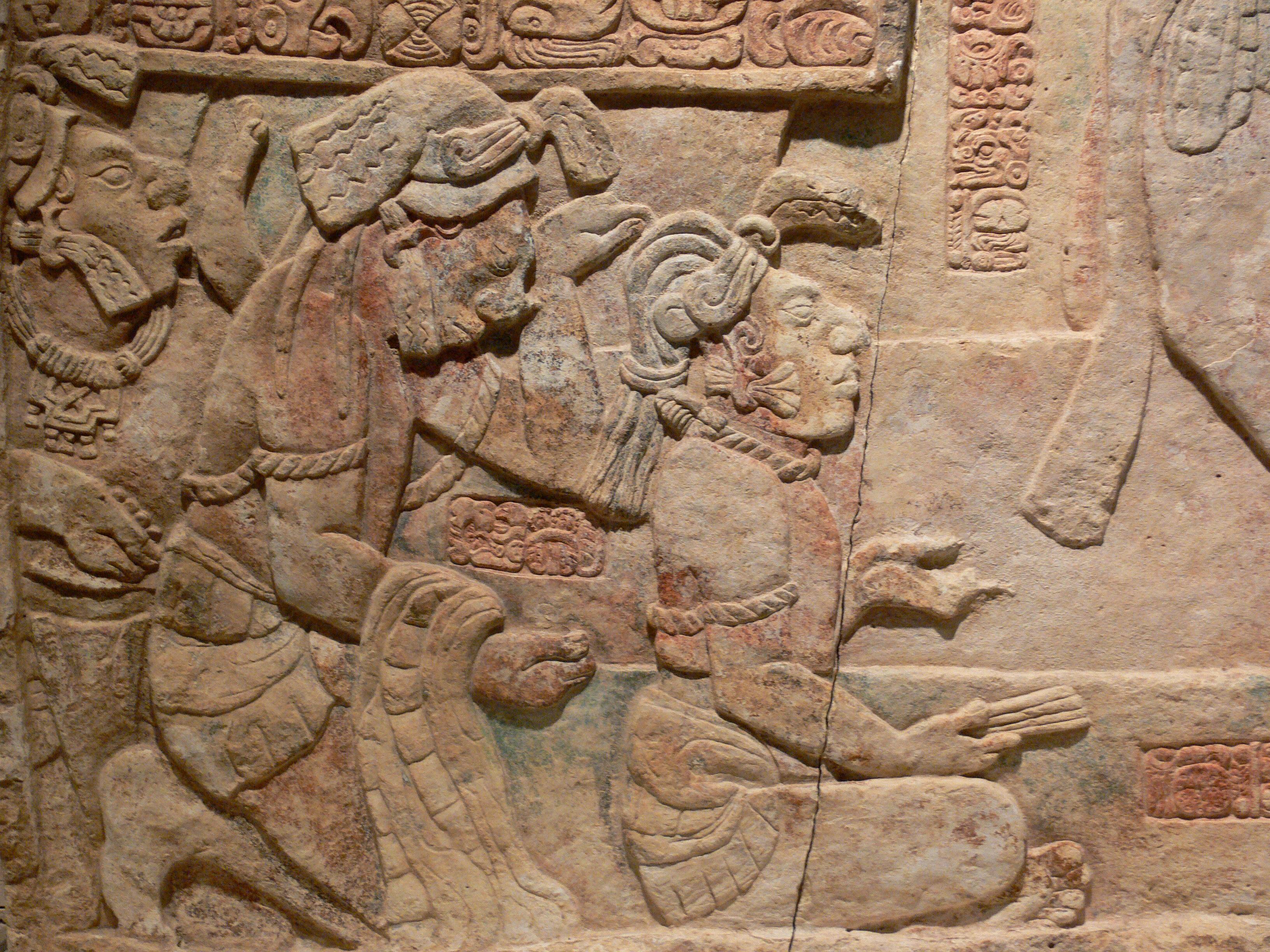 The Sacred Tzolk In Of The Maya Yellow Overtone Human