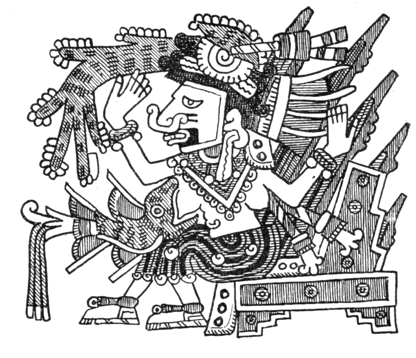 The 400-breasted Mayahuel Aztec Goddess of the maguey or agave (Wikimedia Commons)