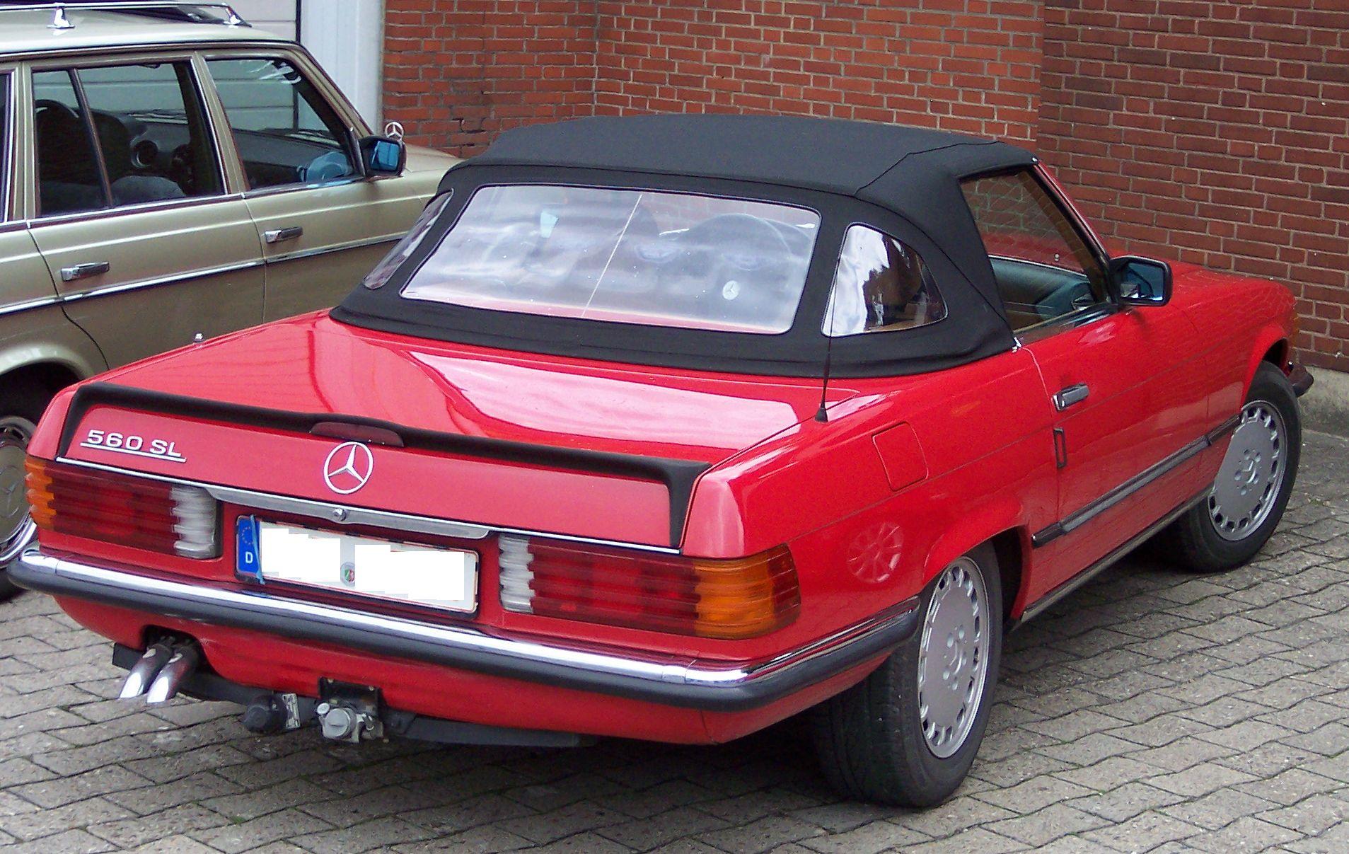 Mercedes Sl Convertible