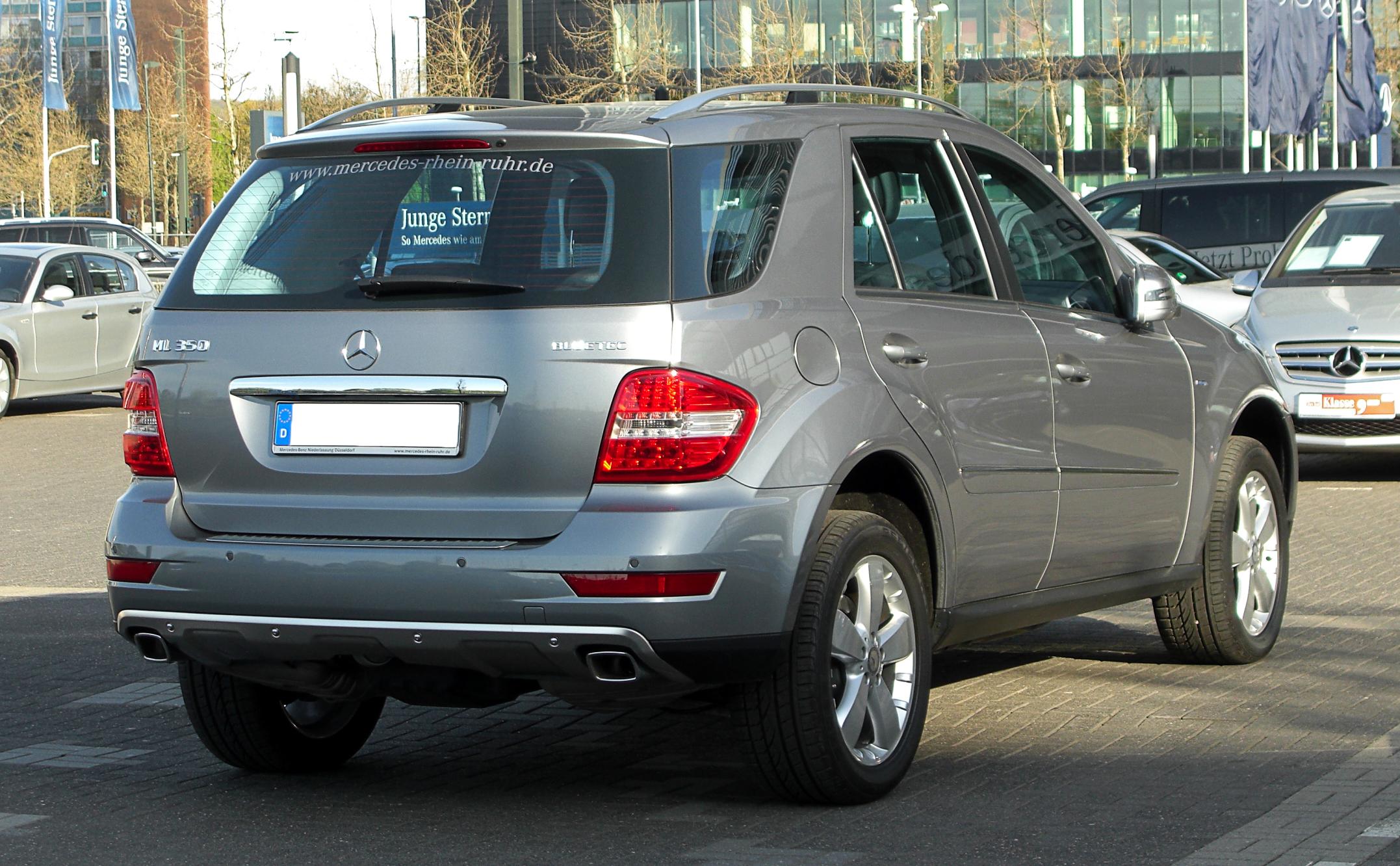 File:Mercedes-Benz ML 350 BlueTEC 4MATIC (W 164, Facelift ...
