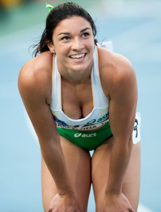 The 25-year old daughter of father (?) and mother(?) Michelle Jenneke in 2018 photo. Michelle Jenneke earned a  million dollar salary - leaving the net worth at 3 million in 2018