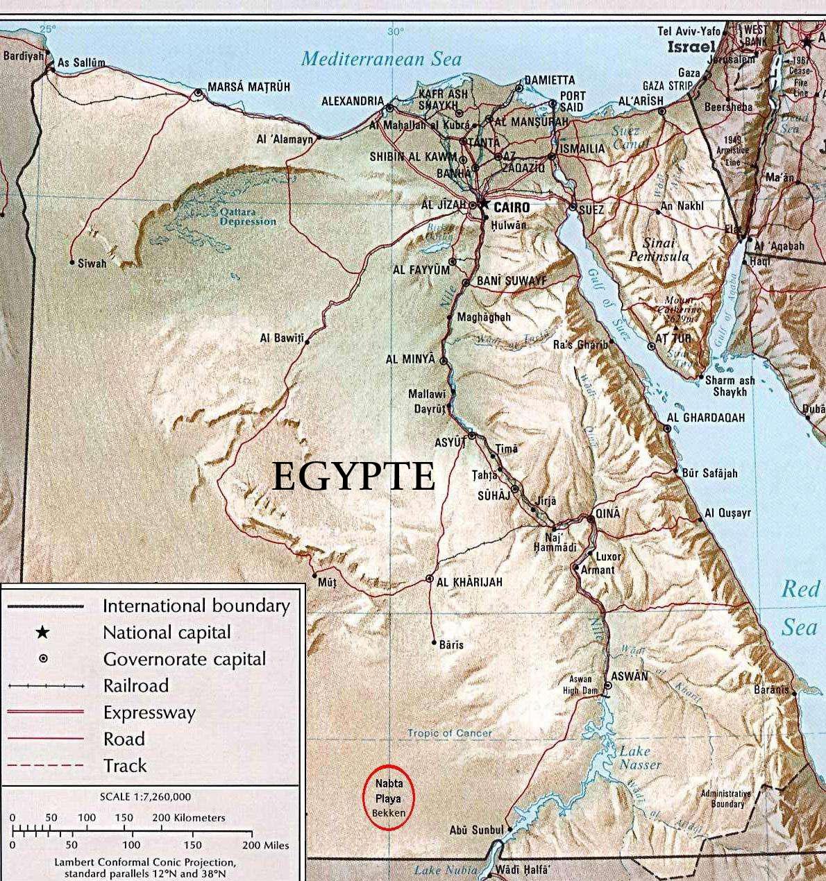 Nabta Playa Wikipedia - Map of egypt eastern desert