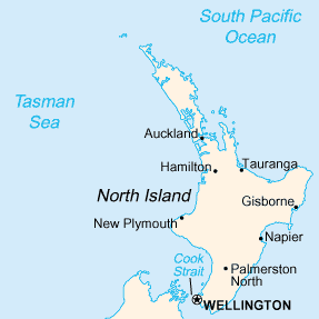 North Island Map