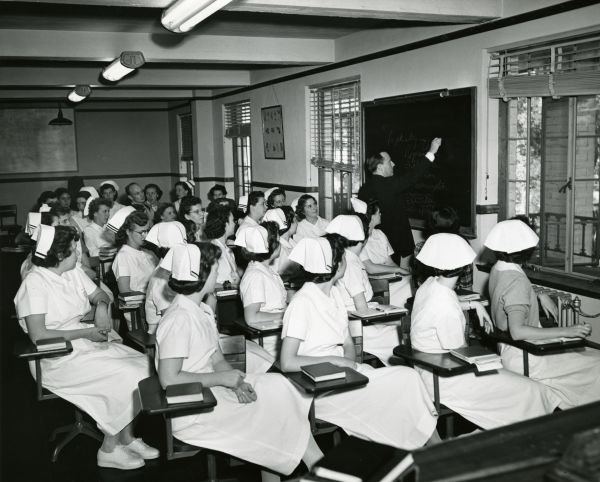 Nurses in class at the Florida State Hospital in Chattahoochee (33480948865)