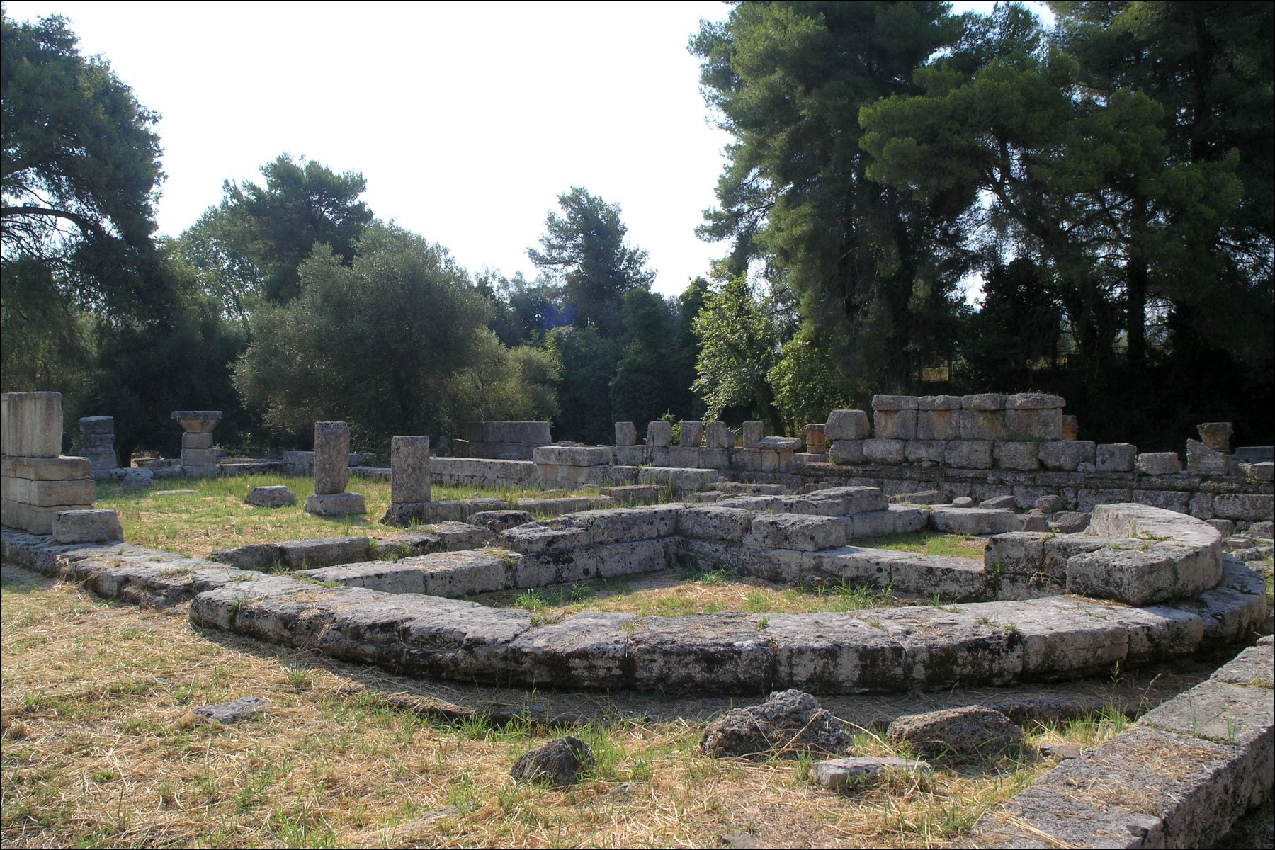 Olympia ancient sanctuary ilia gtp for The olympia