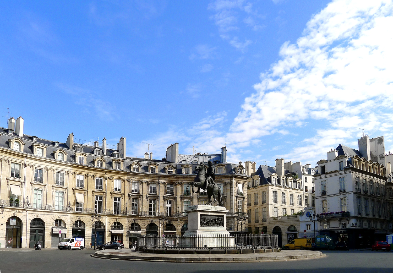 Fichier p1040003 paris ii place des victoires rwk jpg wikip dia - Place des victoires metro ...