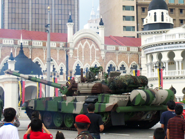 FilePT 91M Tank Of The Malaysian Army