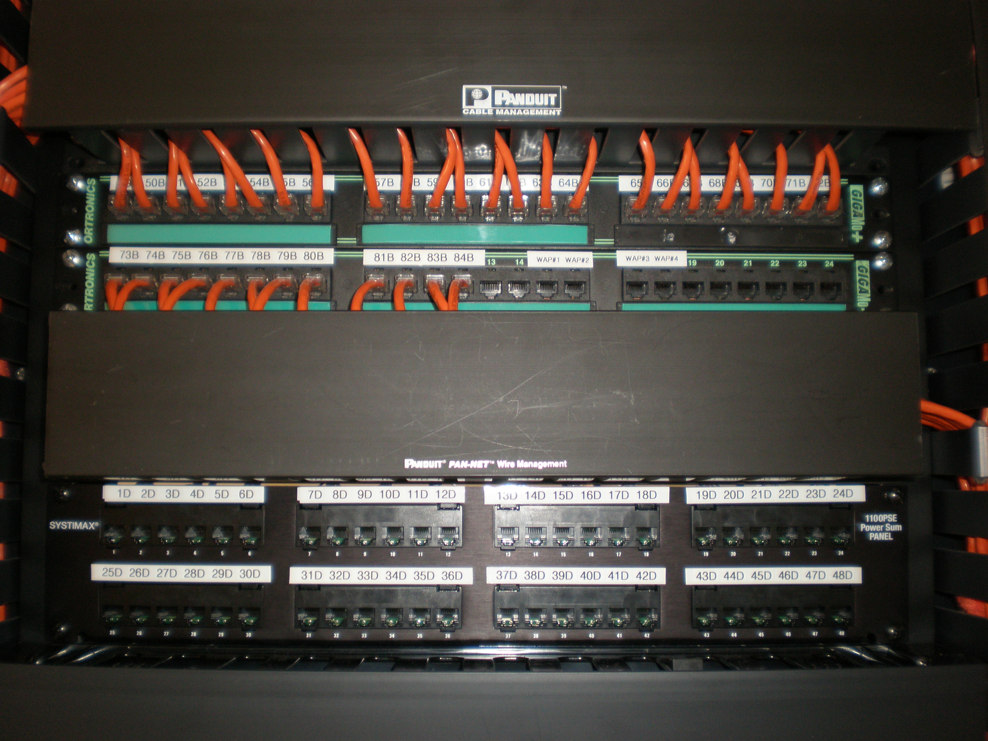 File:Panduit Pan-Net Cable Management System detail 2.JPG ... on